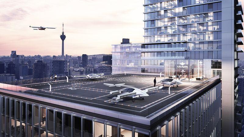 В Германии испытали летающий электромобиль - 1