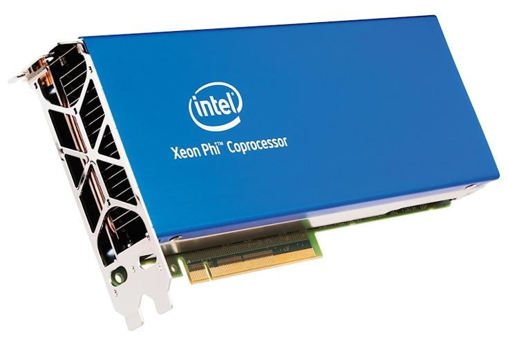 Intel расширяет ассортимент сопроцессоров Knights Landing