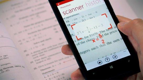 Приложение Photomath обеспечит хорошую оценку по математике
