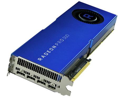 Продажи Radeon Pro Duo должны начаться в конце мая по цене $999