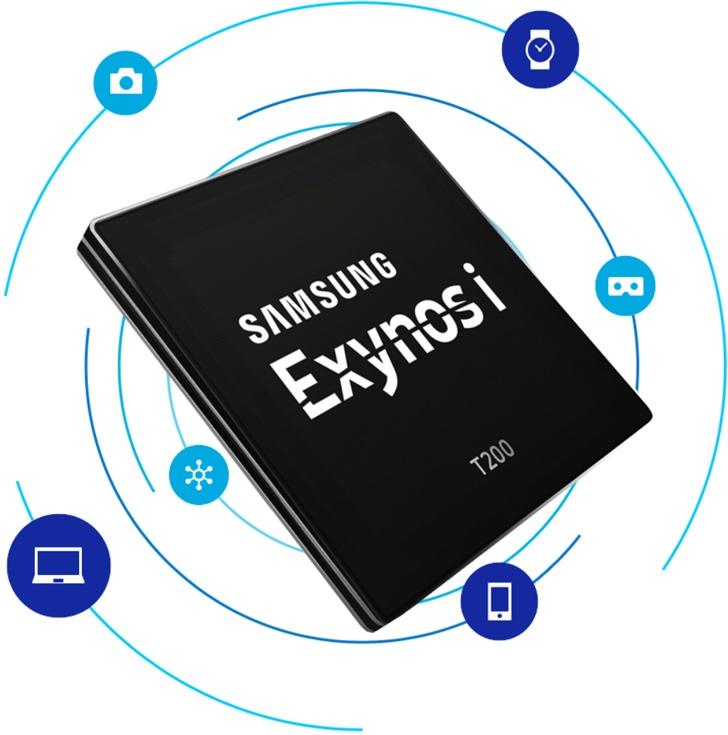 Однокристальная система Samsung Exynos i T200 предназначена для IoT