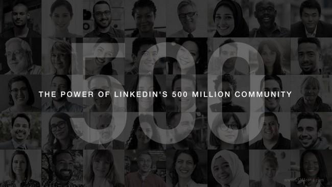 Пользовательская база LinkedIn превысила 500 млн человек