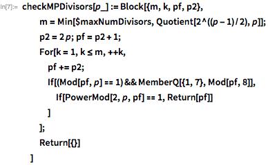 Простые числа Мерсенна и тест Люка-Лемера - 35