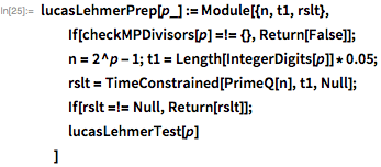 Простые числа Мерсенна и тест Люка-Лемера - 89