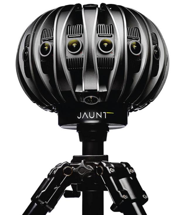 Анонсированы продажи VR-камер профессионального уровня Jaunt One