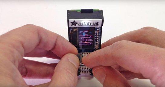 Изобретён миниатюрный игровой автомат размером со спичечный коробок