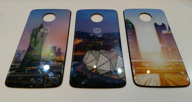 Появились изображения новых модулей Moto Style Shells для смартфонов Moto Z