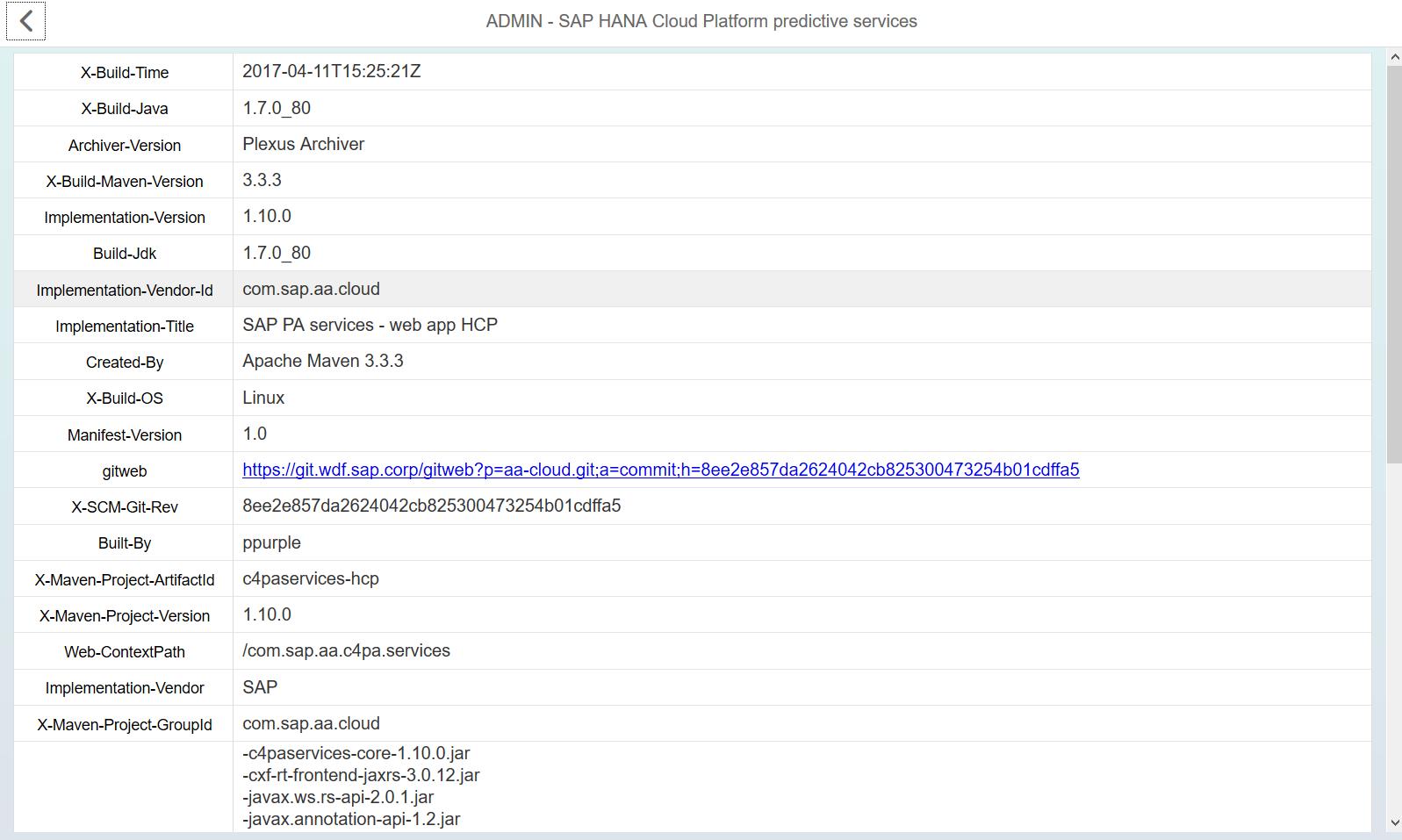 Предиктивная аналитика на платформе SCP - 17
