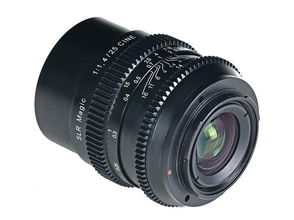В продаже объектив SLR Magic Cine 25mm F1.4 должен появиться в мае по цене $399