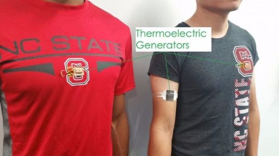Разработан генератор для зарядки гаджетов от тела