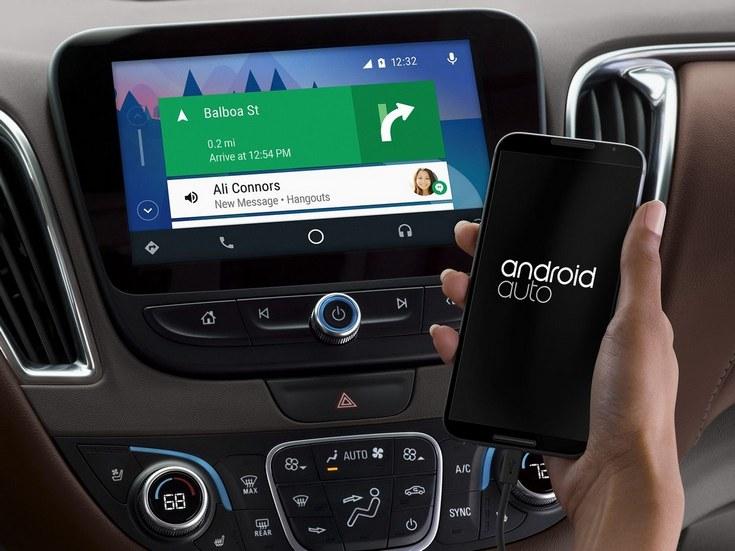 Chevrolet и Vauxhall внедряют поддержку Android Auto в новые автомобили