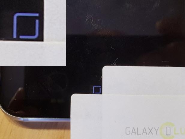 Виртуальная кнопка Home не вредит дисплею смартфона Samsung Galaxy S8 в режиме Always On Display