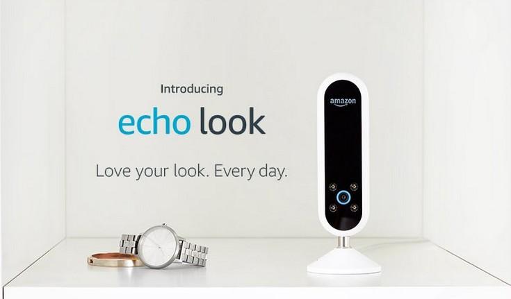Камера Amazon Echo Look оценивается в 200 долларов