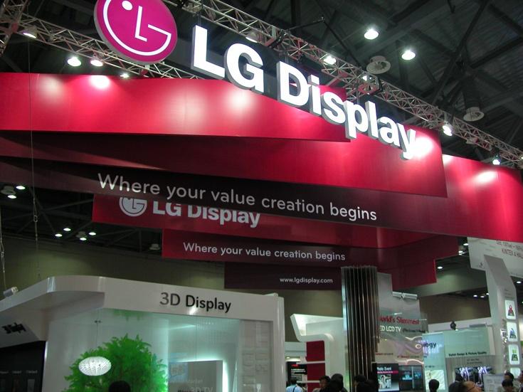 На панели для телевизоров сейчас приходится 43% дохода LG Display