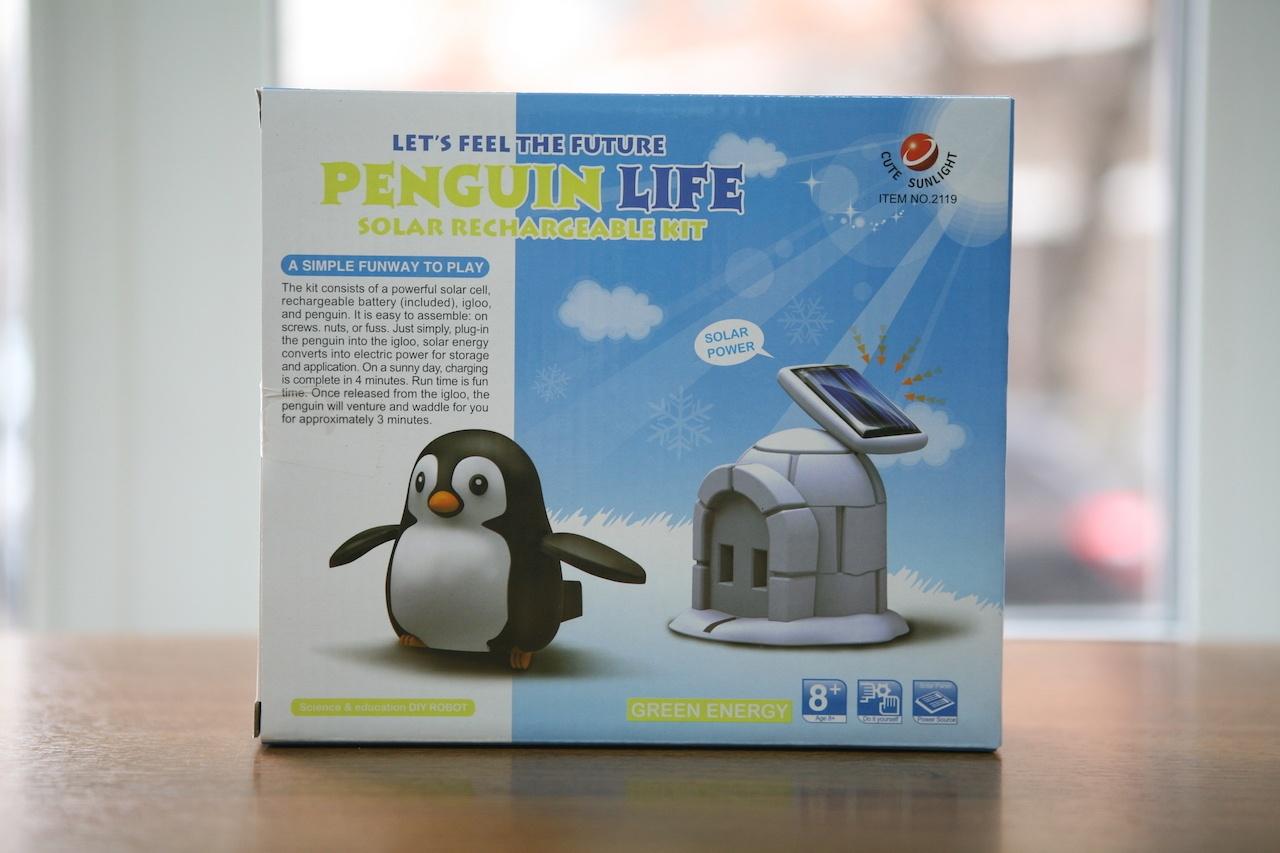 Пингвин на солнечных батареях: забавный конструктор «один в одном» - 2