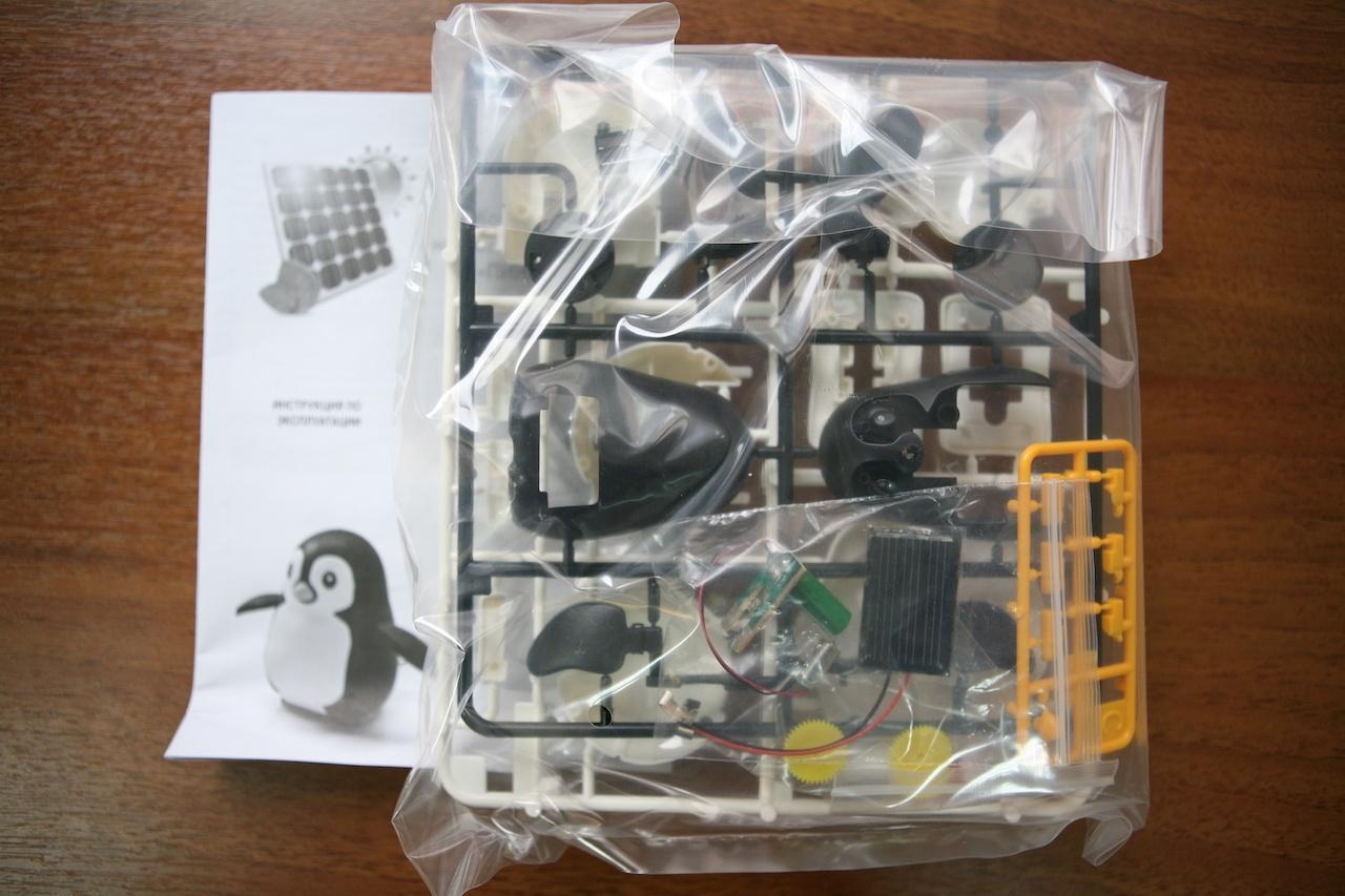 Пингвин на солнечных батареях: забавный конструктор «один в одном» - 3