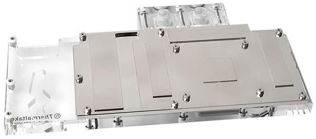 Водоблок Thermaltake Pacific V-GTX 1080Ti носит каталожный индекс CL-W183-CU00TR-A