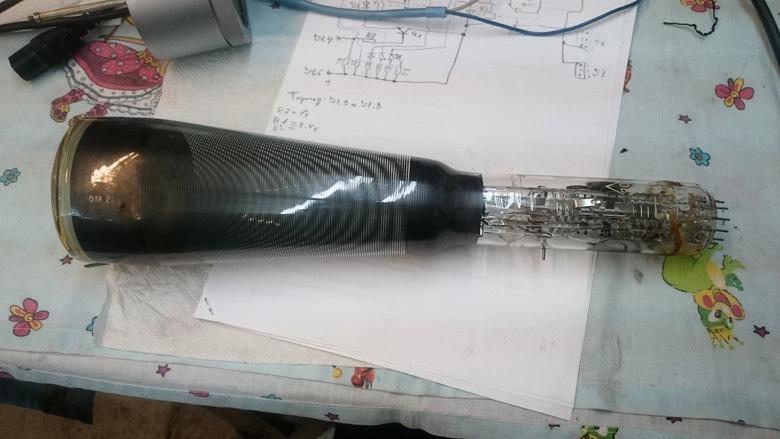 Электронный микроскоп в гараже. Разгоняем электроны - 2