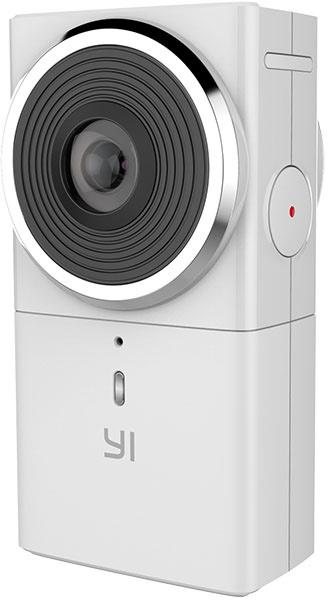 Доступ к функциям и настройкам YI 360 VR представляют органы управления на корпусе устройства и мобильное приложение
