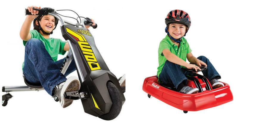 С детства на колесах: электроцикл и дрифтер от Razor для детей и подростков - 1