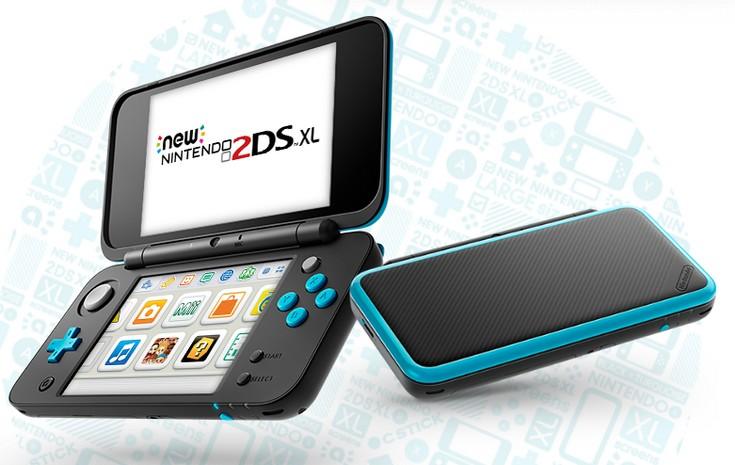 Представлена приставка Nintendo 2DS XL