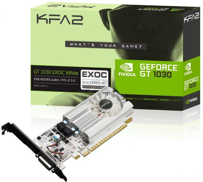 Видеокарта GeForce GT 1030 будет слабее, чем мы думали