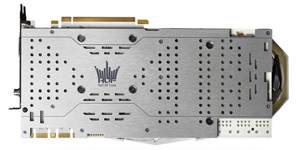 3D-карта KFA2 GeForce GTX 1080 Ti HOF 8 Pack Edition: трехслотовый кулер, встроенный дисплей и очень высокие частоты - 2