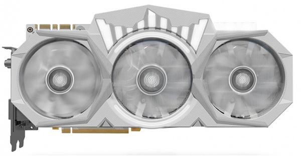 3D-карта KFA2 GeForce GTX 1080 Ti HOF 8 Pack Edition: трехслотовый кулер, встроенный дисплей и очень высокие частоты - 1