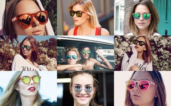Солнцезащитные очки с цветными линзами опасны
