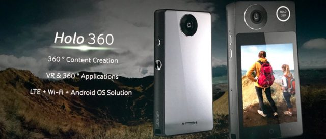 Acer Holo 360 — гибрид панорамной камеры и смартфона с ОС Android