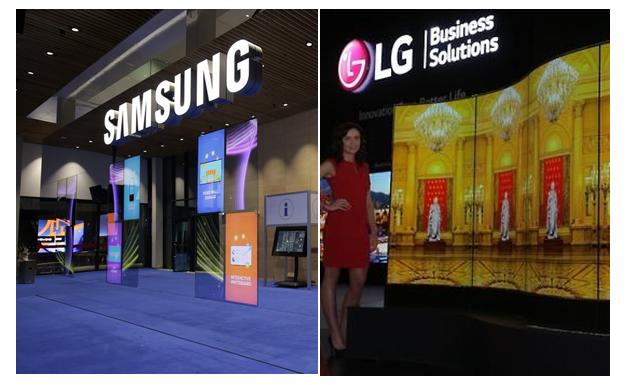 Samsung и LG не могут договориться о поставках ЖК-панелей для телевизоров