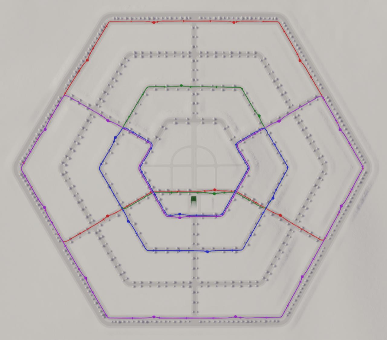 Шестиугольный город - 15