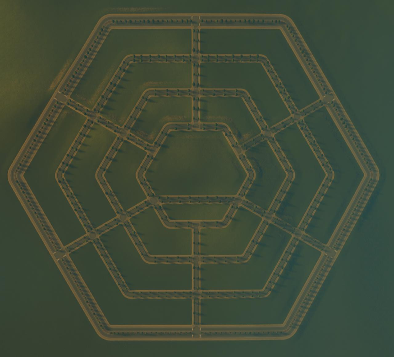 Шестиугольный город - 3