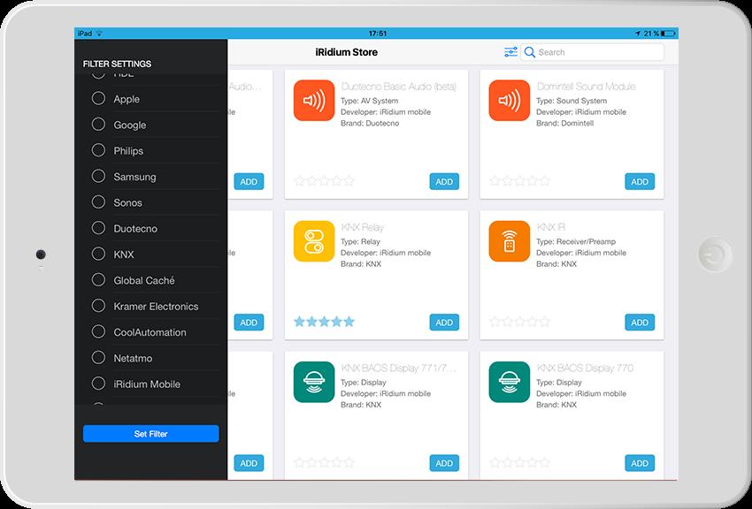 iRidium lite: многофункциональное приложение для инсталляторов домашней автоматизации в эпоху Интернета вещей - 14