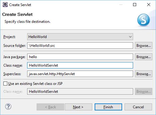 Как запускать на SAP Cloud Platform сервлеты из Eclipse - 12