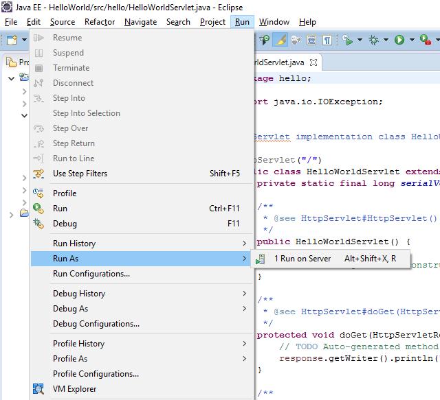 Как запускать на SAP Cloud Platform сервлеты из Eclipse - 16