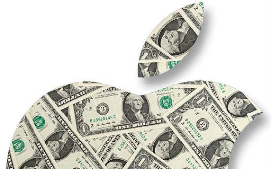 Запасы денежных средств Apple превысили четверть триллиона долларов