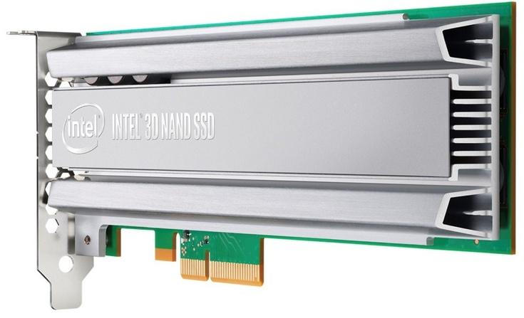 SSD Intel DC P4500 и P4600 предназначены для серверов