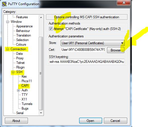 Аутентификация в OpenSSH Putty по JaCarta PKI - 4