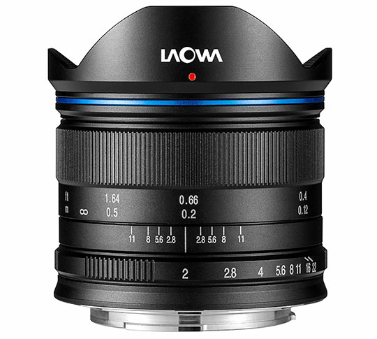 Поставки Laowa 7.5mm f/2 MFT должны начаться в конце месяца