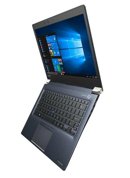 Ноутбук Toshiba Portege X30 соответствует стандартам MIL-SPEC-810G