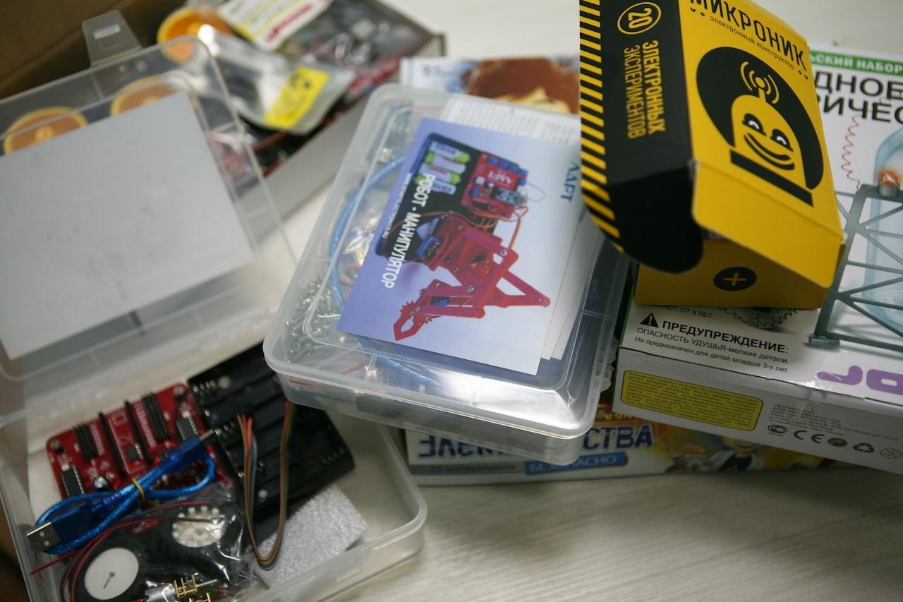 Подборка детских электронных конструкторов для первых опытов - 2