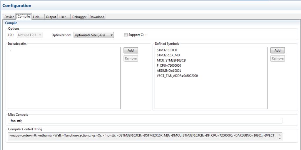 Билдим под stm32duino с помощью CMake (и отгребаем от линкера)