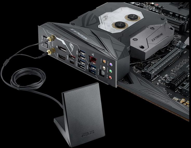 Компания Asus представила системную плату ROG Maximus IX Extreme типоразмера E-ATX
