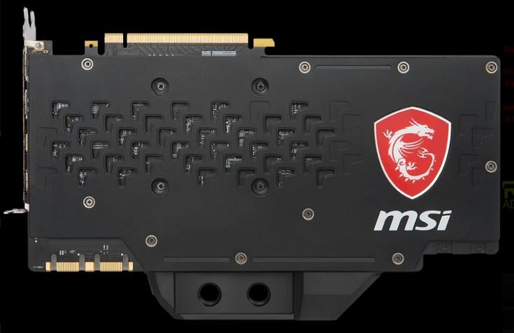Видеокарта MSI GeForce GTX 1080 Ti SeaHawk EK X получила разогнанную память