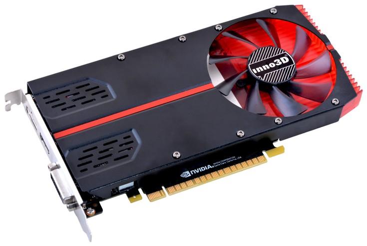 Модель Inno3D GeForce GTX 1050 Ti (1-Slot Edition) занимает лишь один слот расширения