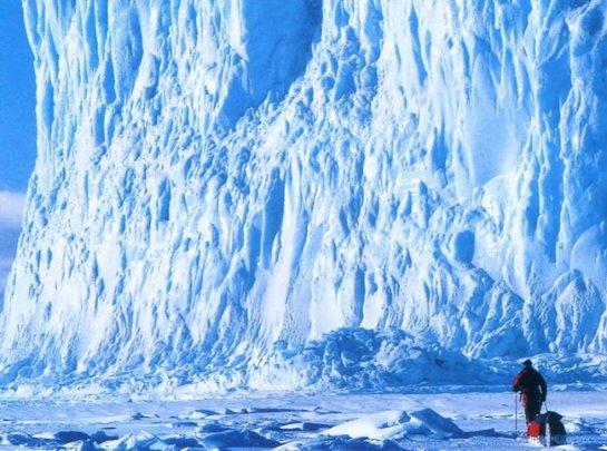 Ледниковый щит Антарктиды останется неизменным, даже из-за глобального потепления