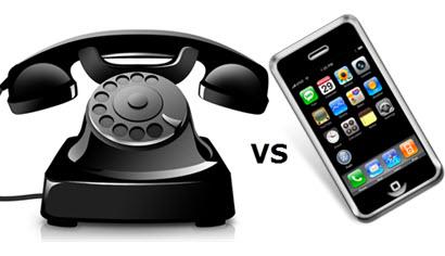 Всего 6,5% американцев используют только стационарные телефоны