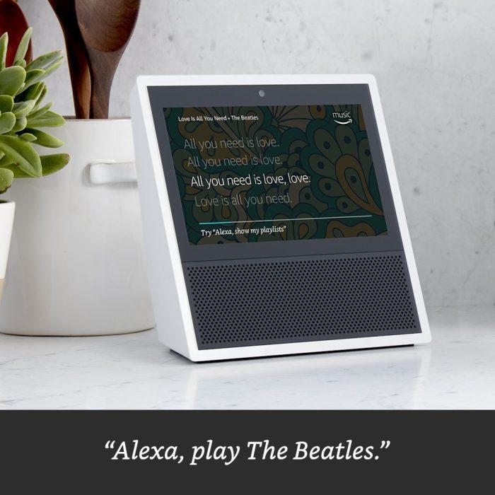 Amazon представила умную АС Echo Show