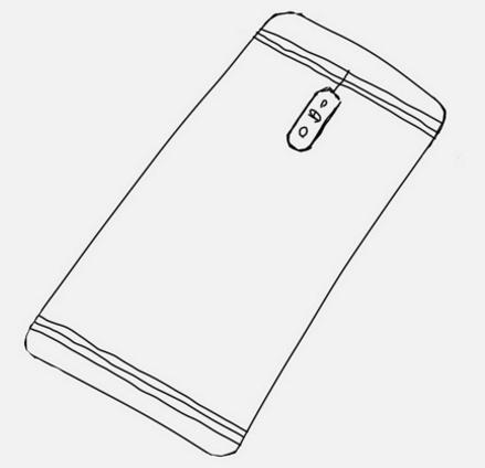 Так может выглядеть тыльная панель Samsung Galaxy C10
